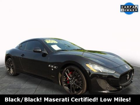 Certified Pre-Owned 2016 Maserati GranTurismo Sport RWD 2D Coupe
